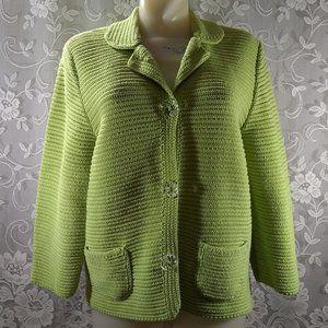 Josephine Chaus Heavy Knit Cardigan Sweater